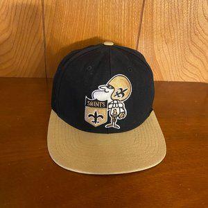 NFL New Orleans Saints Snapback Hat Mitchell & Nes